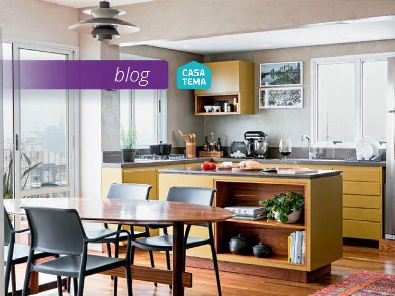 Saiba como decorar e aproveitar melhor o espaço da sua cozinha