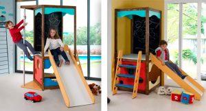 playground infoor em forma de torre
