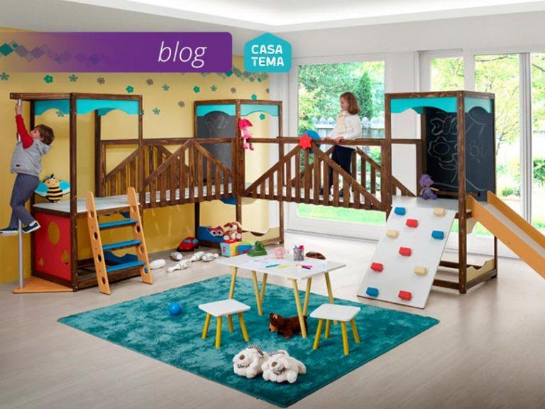 4 ideias de playground infantil para ter em casa