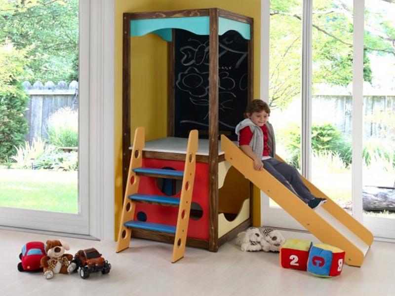Torre Playground para Brinquedoteca III com MultiBrinquedos - Casatema