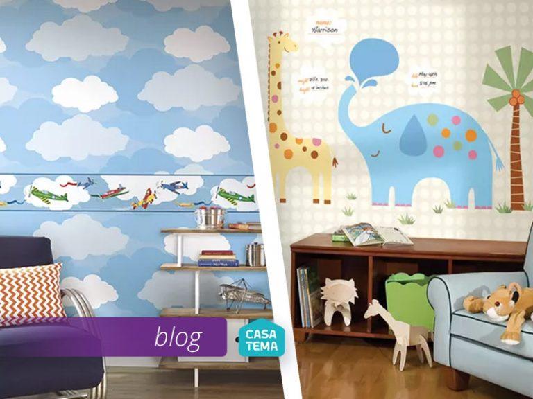 Adesivo ou papel de parede Qual é melhor