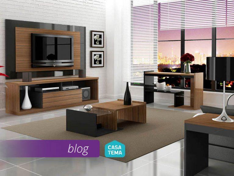 Como escolher os móveis de acordo com o modelo da sua sala