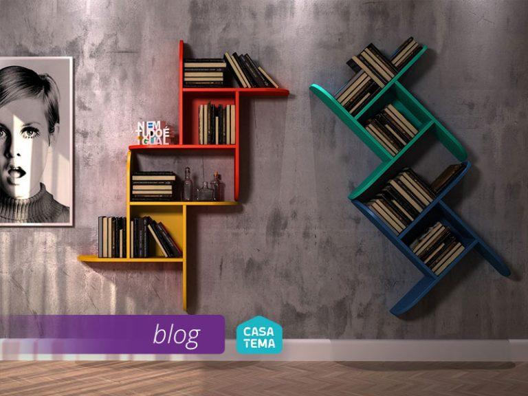 Livros na decoração Ideias que vão te inspirar