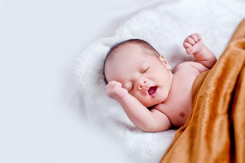 bebê com sindrome de down