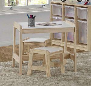 mesinha de madeira para criancas