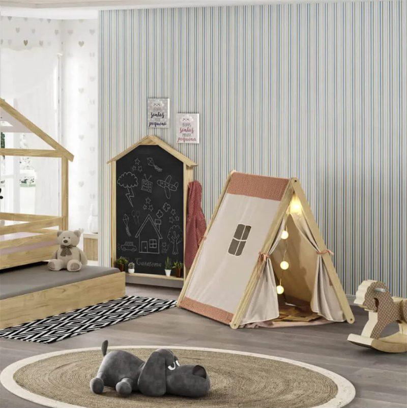 cama cabana para crianças