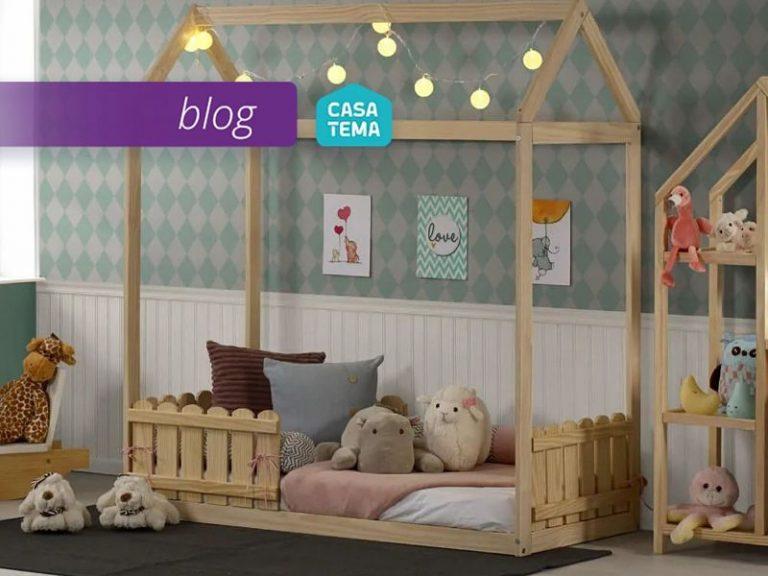 mini cama casinha com cerquinha