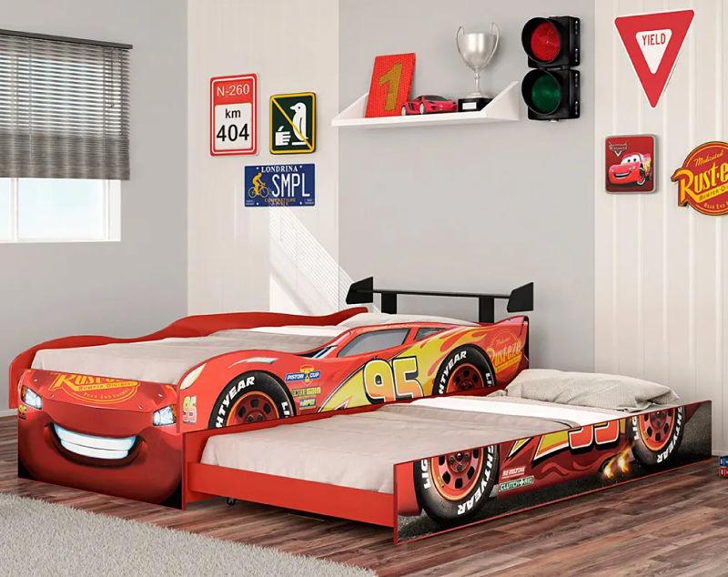 Bicama Infantil Carros Disney Fun - Pura Magia