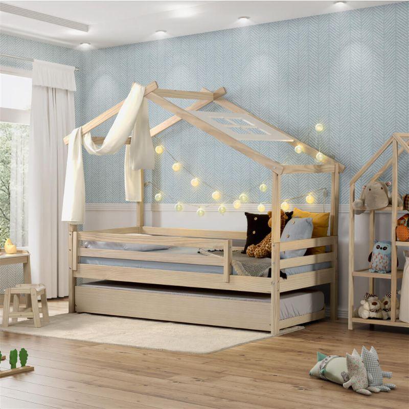 bicama infantil formato casa