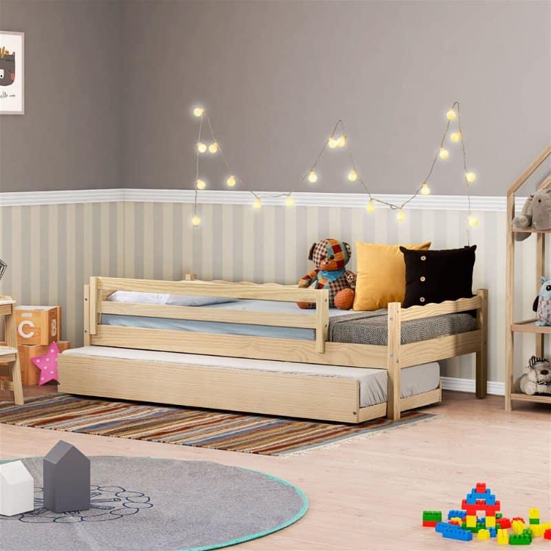 bicama infantil com colchão gaveta