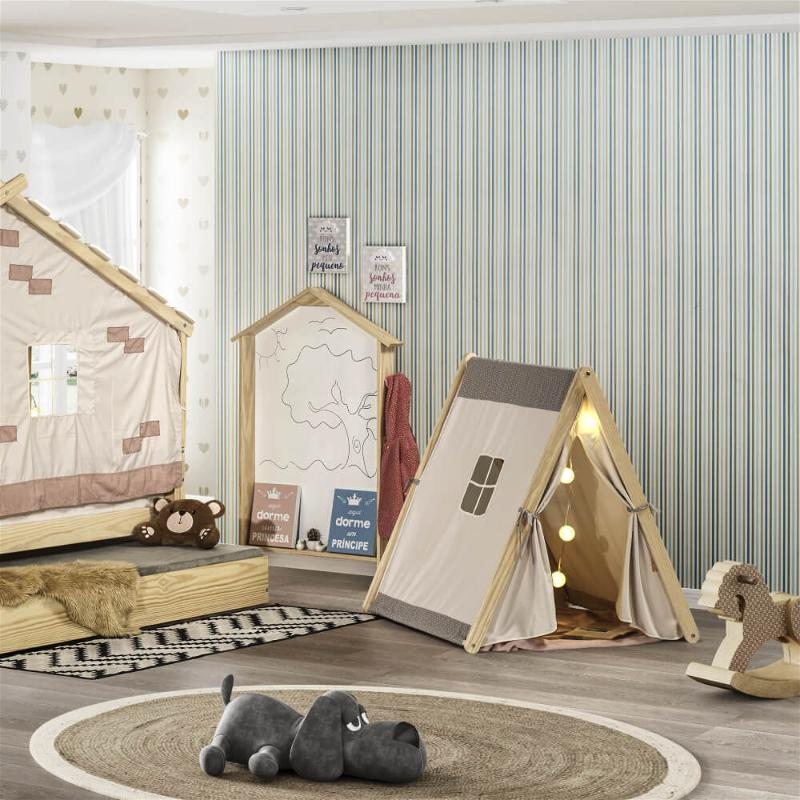 cabana infantil com tenda