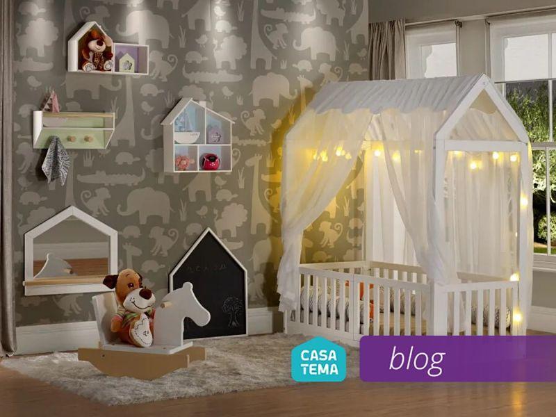 decoração de quarto de bebe funcional
