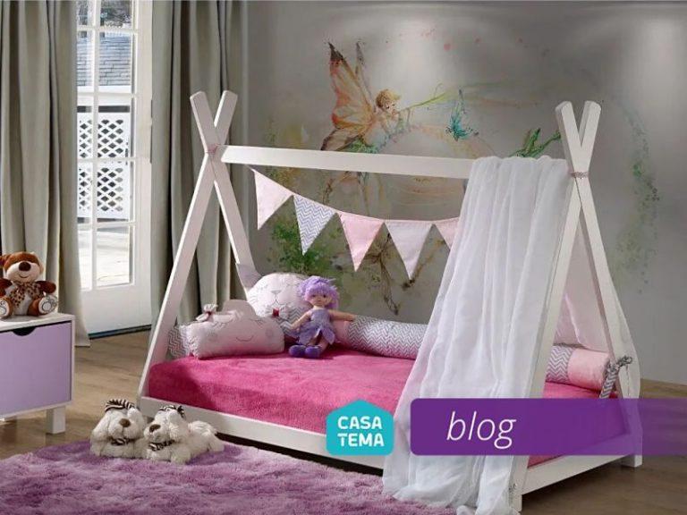 decoração de quarto infantil com papel de parede