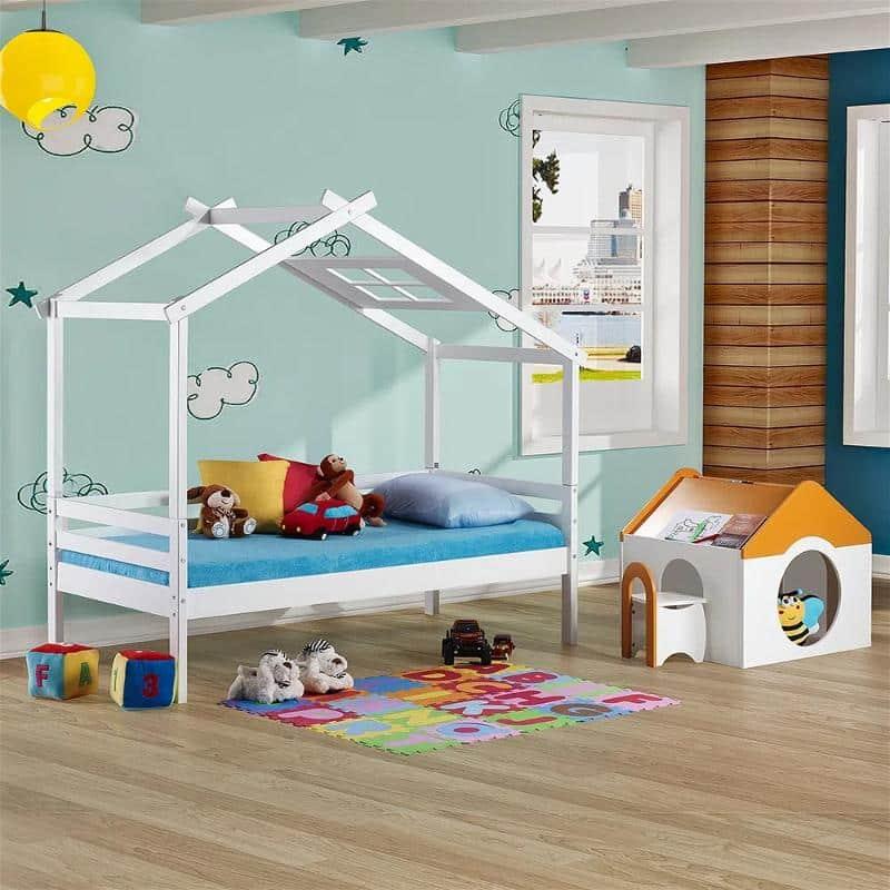Cama Infantil Prime com Telhado