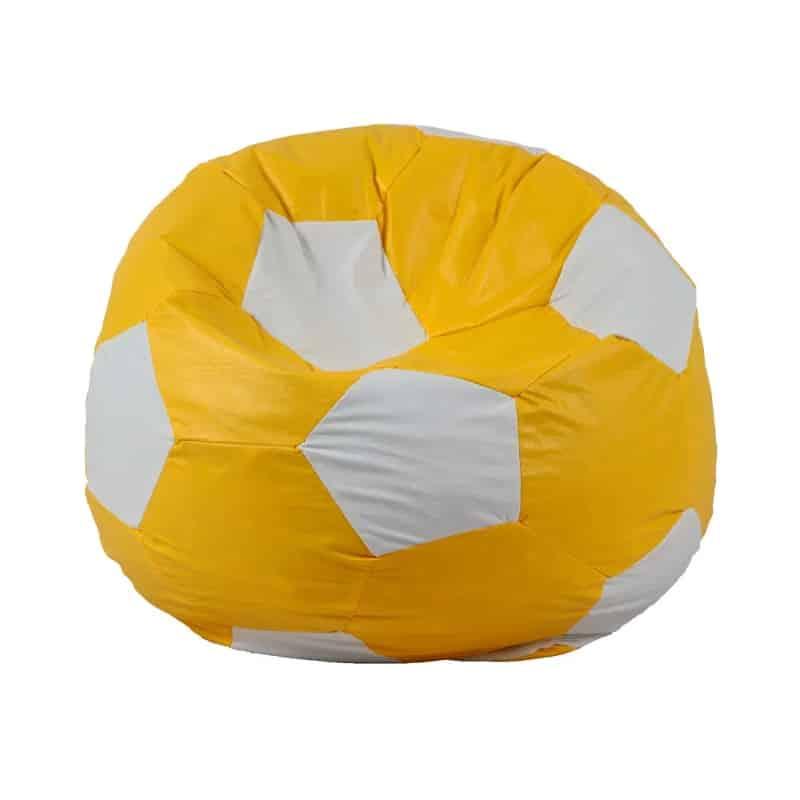 puff bola amarela