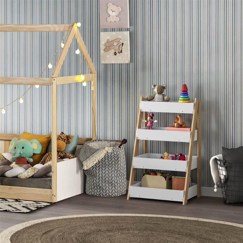 cama infantil formato casa