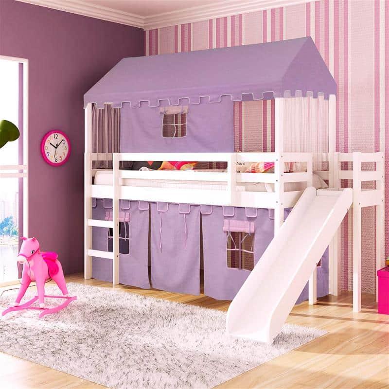 cama em formato de casa