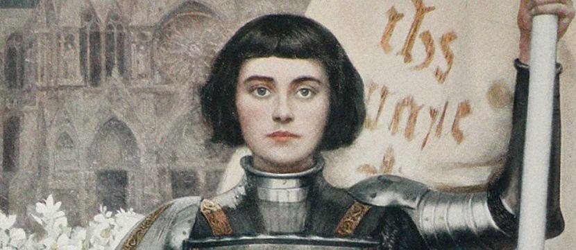 Joana D'arc chefe militar da guerra 100 anos