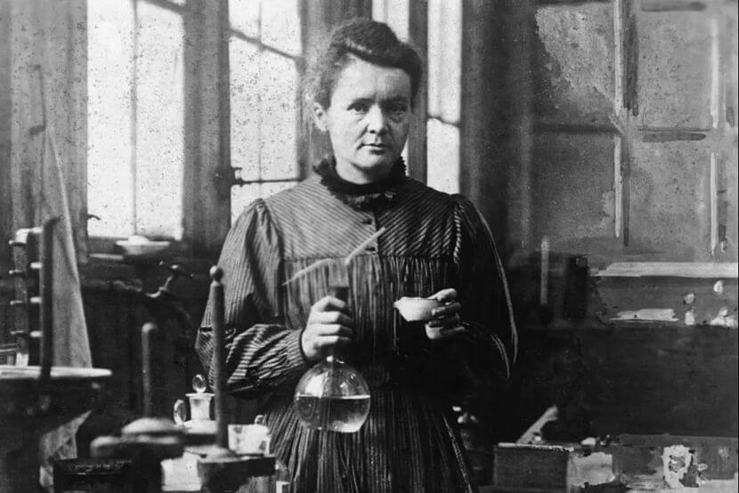 Marie Curie cientista polonesa