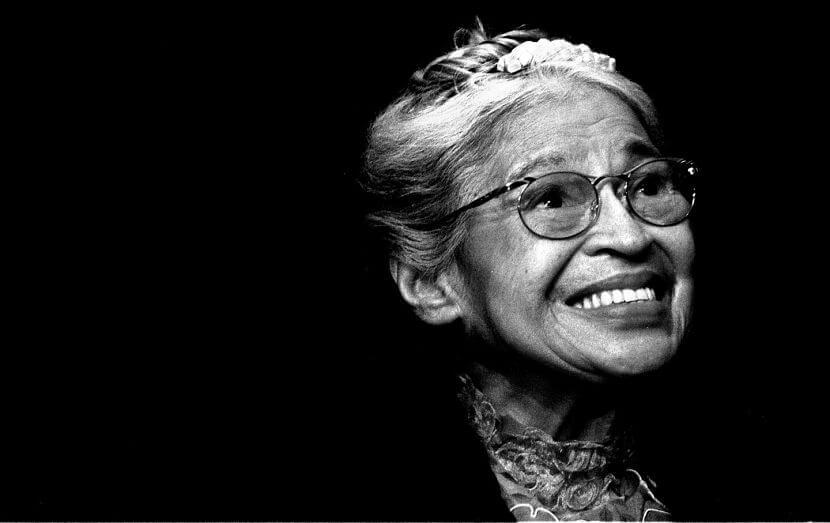 Rosa Parks ativista símbolo