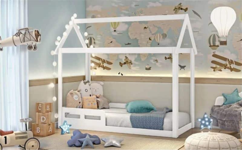 decoração viagens quarto infantil